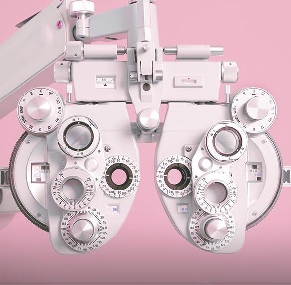 aparatura badająca wzrok